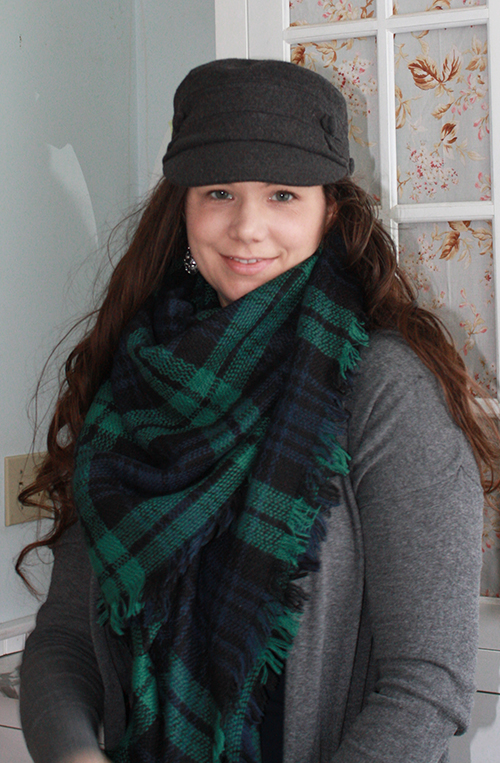 blue-green-blanket-scarf-hat