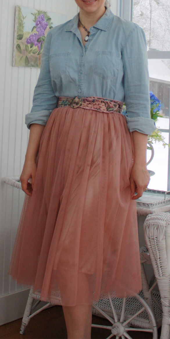 spring skirts in tulle