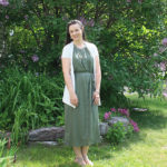 Fresh Green Shirtdress for Summer