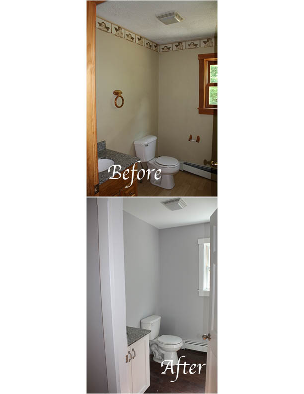 Flip House Tour-Powder Room