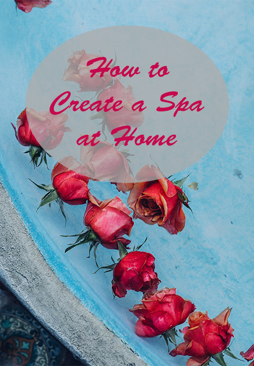 How to create your own spa at home and a giveaway mud for How to make a spa at home