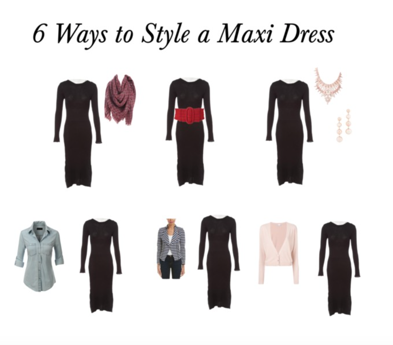 2f7e0ee56a 6 Ways to Style a Maxi Dress - Mud Boots and Pearls